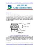 Vẽ kỹ thuật với AutoCad 2004 - Chương 5
