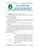 Vẽ kỹ thuật với AutoCad 2004 - Chương 6