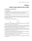 Giáo trình đo điện điện tử - Chương 1