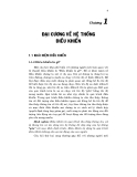 Lý thuyết điều khiển tự động - Chương 1 ĐẠI CƯƠNG VỀ HỆ THỐNG ĐIỀU KHIỂN