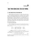 Lý thuyết điều khiển tự động - Chương 3 ĐẶC TÍNH ĐỘNG HỌC CỦA HỆ THỐNG