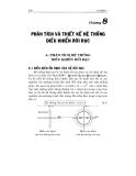 Lý thuyết điều khiển tự động - Chương 8 PHÂN TÍCH VÀ THIẾT KẾ HỆ THỐNG ĐIỀU KHIỂN RỜI RẠC
