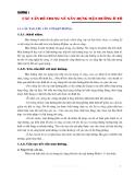 Thi công mặt đường ô tô - Chương 1