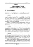 Thiết kế đường trên Landdesktop - Chương 2