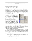 Giáo trình tin học hệ dự bị đại học - Chương 3