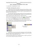 Giáo trình tin học hệ dự bị đại học - Chương 5