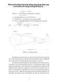 Giáo trình phân tích khả năng ứng dụng theo quy trình phân bố năng lượng phóng xạ p1
