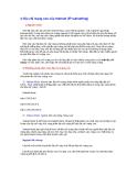 Địa chỉ mạng con của Internet (IP subnetting)