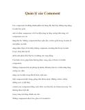 HƯỚNG DẪN THIẾT KẾ WEB_JOOMLA WEB_QUẢN LÝ CÁC COMMENT