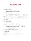 Giáo án lớp 1 môn Tiếng Việt :Tên bài dạy: Âm b