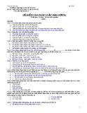 Đề kiểm tra pháp luật đại cương - 2