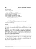 Bài 1  Kiến thức nền tảng về Cơ sở dữ liệu