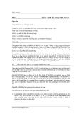 Bài 8 Quản trị dữ liệu trong SQL Server