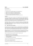 Bài 10  Truy vấn dữ liệu