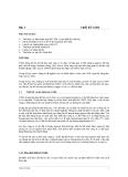 Bài 1 Thiết kế CSDL