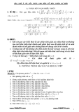 Các dạng Bài tập Đại số 9 thi vào lớp 10 và các lưu ý khi giải một bài toán cơ bản