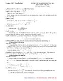 Đề thi thử đại học môn toán khối A năn 2011 - đề 2