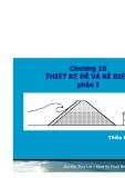 Bài giảng  Chương 10: Thiết kế đê và kè biển