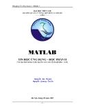 Matlab - Tin học ứng dụng - Chương 1