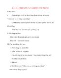 Giáo án lớp 2 môn Kể Chuyện: BÀI 21 : CHIM SƠN CA VÀ BÔNG CÚC TRẮNG