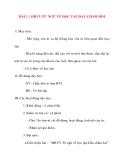 Giáo án lớp 2 môn Luyện Từ Và Câu: BÀI 2 : MRVT-TỪ NGỮ VỀ HỌC TẬP-DẤU CHẤM HỎI