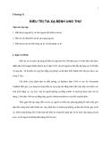 Giáo trình đại cương về Điệu trị Ung thư - Chương 10