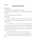 Giáo trình đại cương về Ung thư - Chương 2