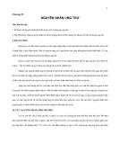 Giáo trình đại cương về Ung thư - Chương 4