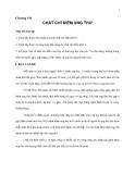 Giáo trình đại cương về Ung thư - Chương 8