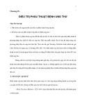 Giáo trình đại cương về Điệu trị Ung thư - Chương 9