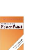 TRÌNH DIỄN BÁO CÁO BẰNG POWER POINT - TRẦN THANH PHONG - 1