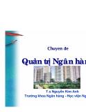 Quản trị Ngân hàng - T.s Nguyễn Kim Anh