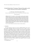 """Báo cáo nghiên cứu khoa học: """"Isolated Handwritten Vietnamese Character Recognition with Feature Extraction and Classifier Combination"""""""
