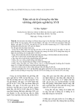 """Báo cáo nghiên cứu khoa học: """"Khảo sát các từ cổ trong ba văn bản viết bằng chữ Quốc ngữ thế kỷ XVII"""""""