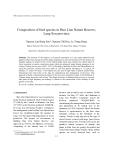 "Báo cáo nghiên cứu khoa học: ""Composition of bird species in Huu Lien Nature Reserve, Lang Son province"""