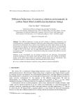"Báo cáo nghiên cứu khoa học: ""Diffusion behaviour of corrosive solution environments in carbon black filled modified polyethylene linings"""