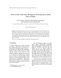 "Báo cáo nghiên cứu khoa học: ""Notes on the water bugs (Hemiptera: Heteroptera) in urban areas of Hanoi"""