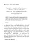 "Báo cáo nghiên cứu khoa học: "" Calculation of Lindemann's melting Temperature and Eutectic Point of bcc Binary Alloys"""