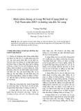 """Báo cáo nghiên cứu khoa học: """" Khái niệm chứng cứ trong Bộ luật tố tụng hình sự Việt Nam năm 2003 và hướng sửa đổi, bổ sung"""""""