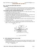 Công nghệ chế tạo máy II - Bài 1