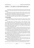 Quan trắc môi trường không khí - Chương 1