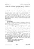 Quan trắc môi trường không khí - Chương 3