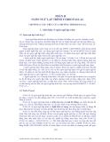 Tin học đại cương - Phần 2 Ngôn ngữ lập trình TURBO PASCAL - Chương 1
