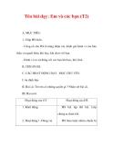Giáo án đạo đức lớp 1:Tên bài dạy: Em và các bạn (T2)