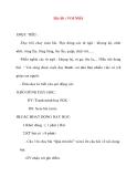 Giáo án lớp 2 môn Tập Đọc: Bài 48 : VOI NHÀ
