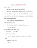 Giáo án lớp 2 môn Tập Đọc: Bài 49 : SƠN TINH, THUỶ TINH
