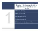 Bài giảng môn Địa cơ nền móng (TS Nguyễn Minh Tâm) - Chương 1 (Phần 1)