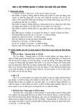 PHƯƠNG ÁN LAO ĐỘNG - BÀI 2: HỆ THỐNG QUẢN LÝ CÔNG TÁC BẢO HỘ LAO ĐỘNG