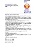 Bài tập - Bài giải Kế toán tài chính - hàng tồn kho