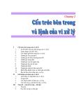 Chương 2: Cấu trúc bên trong và lệnh của vi xử lý